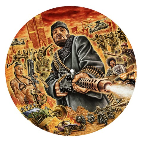 R.A. The Rugged Man - All My Heroes Are Dead Slipmat