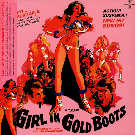 V.A. - Girl In Gold Boots Original Motion Picture Soundtrack Gold Vinyl Edition
