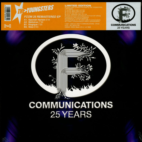 Youngsters, The - F Com 25 Remastered EP