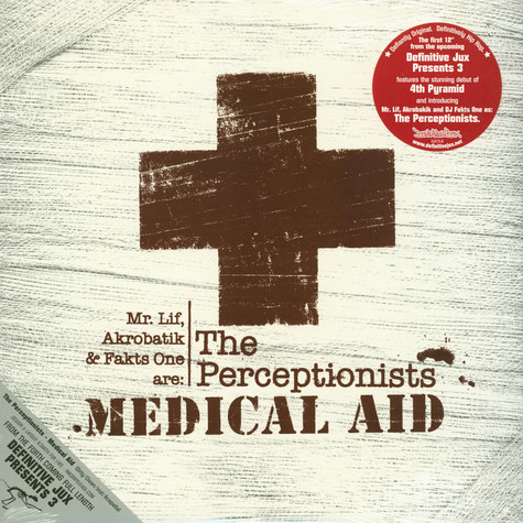 The Perceptionists / 4th Pyramid - Medical Aid / Aquatic / War With Orcs
