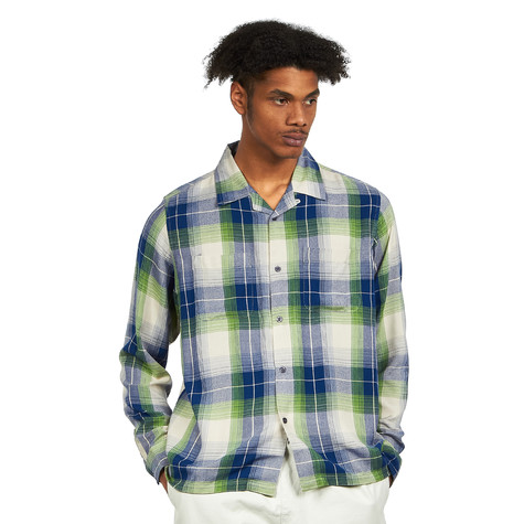 Stüssy - Rayon Plaid LS Shirt