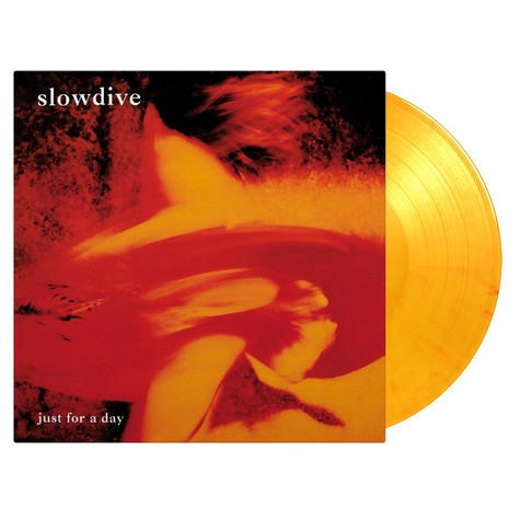 Slowdive - Just For A Day Limited Numbered Orange Vinyl Edition