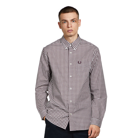 Fred Perry - Gingham Long Sleeve Shirt
