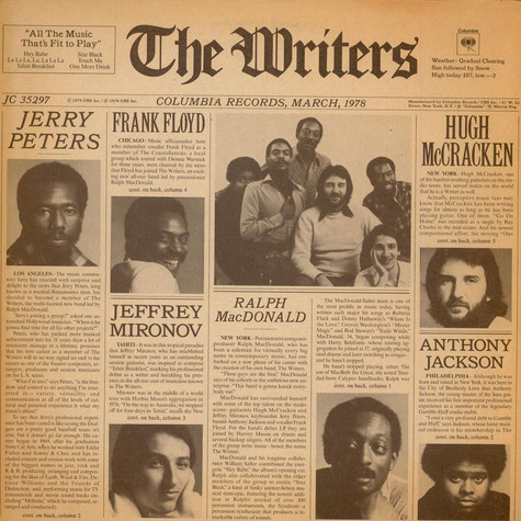 Writers, The - The Writers