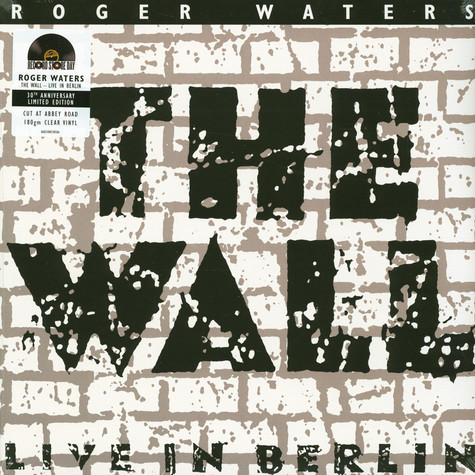 Roger Waters - The Wall Live In Berlin Record Store Day 2020 Edition