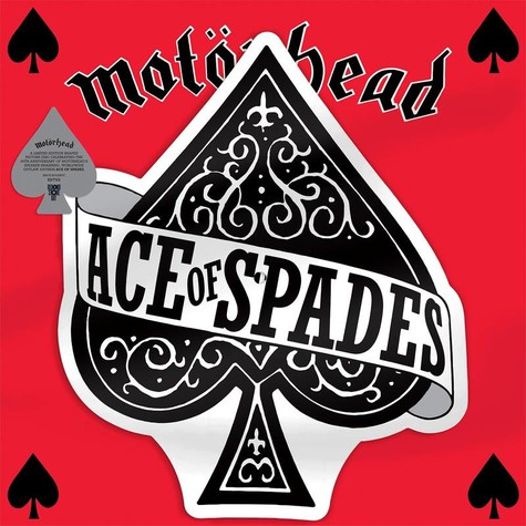 Motörhead - Ace Of Spades / Dirty Love Shaped Picture Disc Record Store Day 2020 Edition