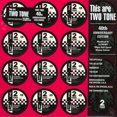V.A. - This Are Two Tone 40th Anniversary Record Store Day 2020 Edition