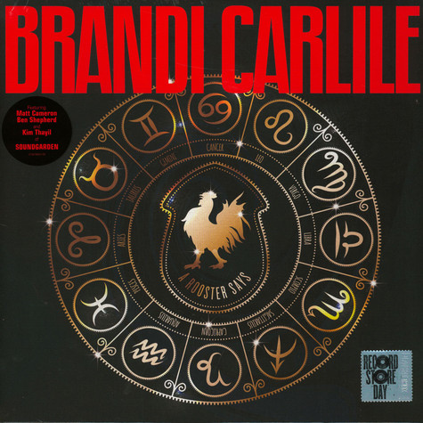 Brandi Carlile Plays Soundgarden - A Rooster Says Record Store Day 2020 Edition