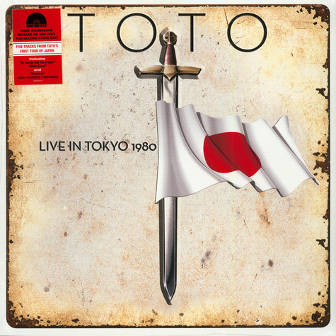 Toto - Live In Tokyo 1980 Red Record Store Day 2020 Edition