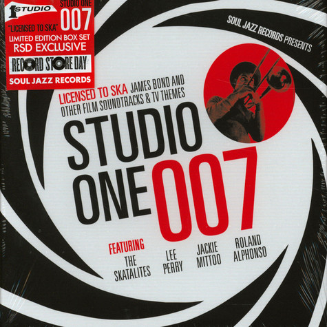 V.A. - Studio One 007: Licensed To Ska! Record Store Day 2020 Edition
