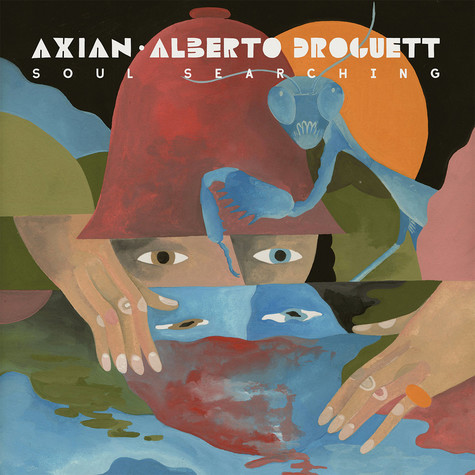 Axian & Alberto Droguett - Soul Searching Marble Vinyl Edition