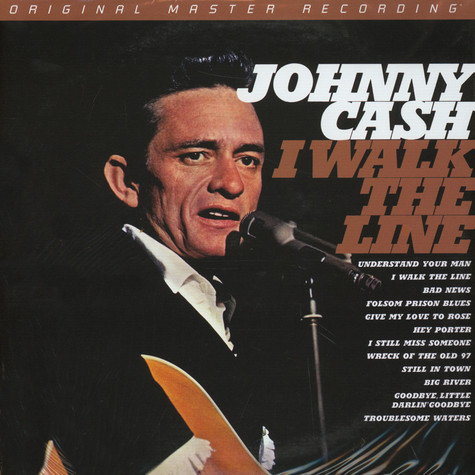 Johnny Cash - I Walk The Line Numbered Limited Edition