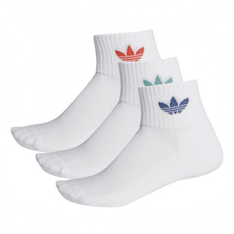 adidas - Mid Ankle Socks (3 Pack)