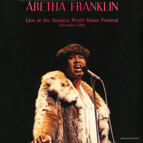 Aretha Franklin - Live At The Jamaica World Music Festival 1982