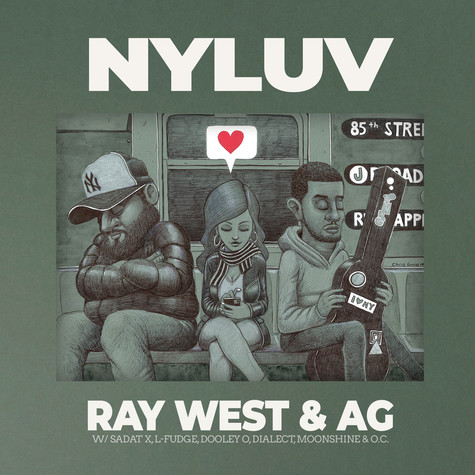 Ray West & AG - NYLUV