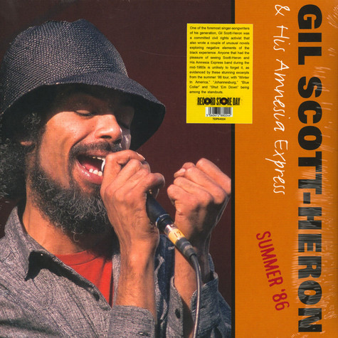 Gil Scott-Heron& His Amnesia Express - Summer '86 Record Store Day 2020 Edition