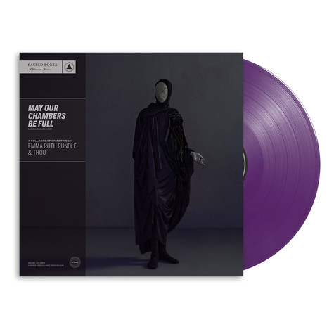 Thou & Emma Ruth Rundle - May Our Chambers Be Full Dark Purple Vinyl Edition