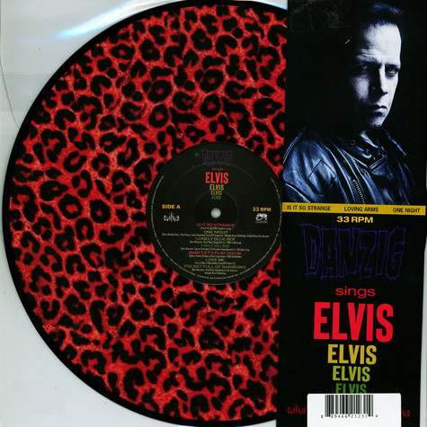Danzig - Sings Elvis - A Gorgeous Pink Leopard Picture Disc Edition