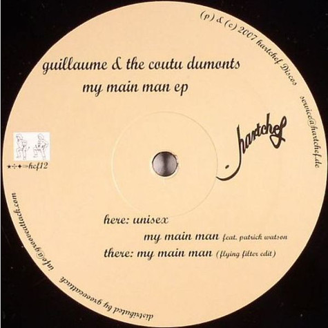 Guillaume & The Coutu Dumonts - My Main Man EP
