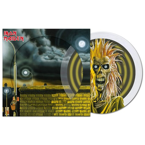 Iron Maiden - Iron Maiden Crystal Clear Picture Disc Edition