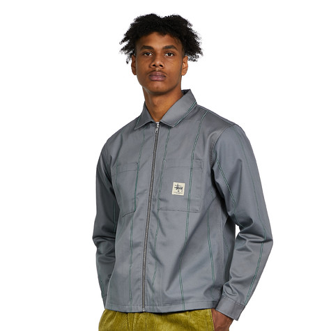 Stüssy - Full Zip LS Work Shirt