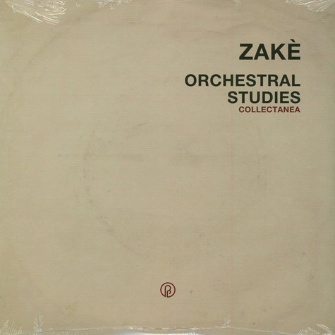 Zake - Orchestral Studies Collectanea Transparent Red Vinyl Edition
