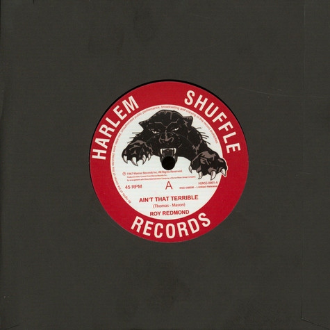 Roy Redmond - Ain't That Terrible / A Change Is Gonna Come Record Store Day 2020 Edition