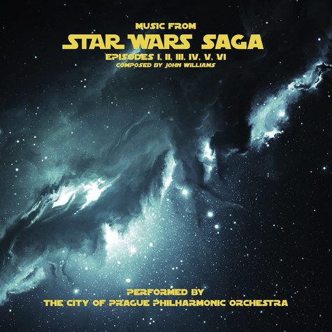 The City Of Prague Philharmonic Orchestra - Music From Star Wars Saga Grey Vinyl Edition