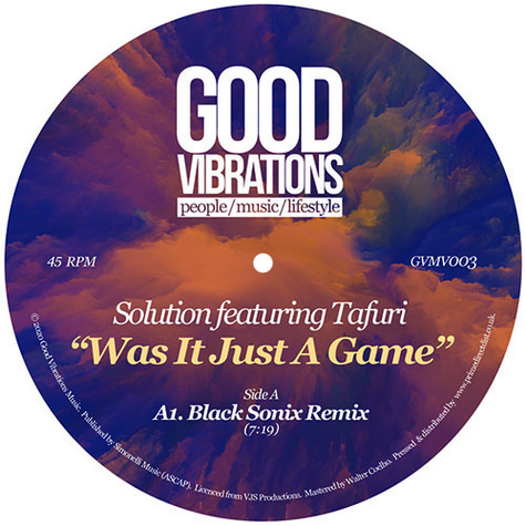 Solution - Was It Just A Game Feat. Tafuri