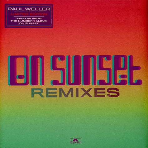 Paul Weller - On Sunset Remixes Limited Edition