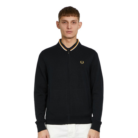 Fred Perry - Knitted Zip Through Bomber