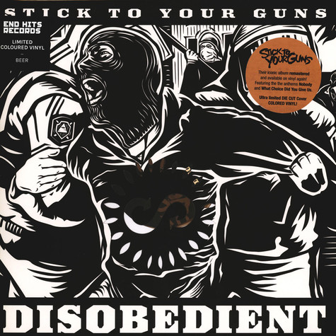 Stick To Your Guns - Disobedient Beer Vinyl Edition