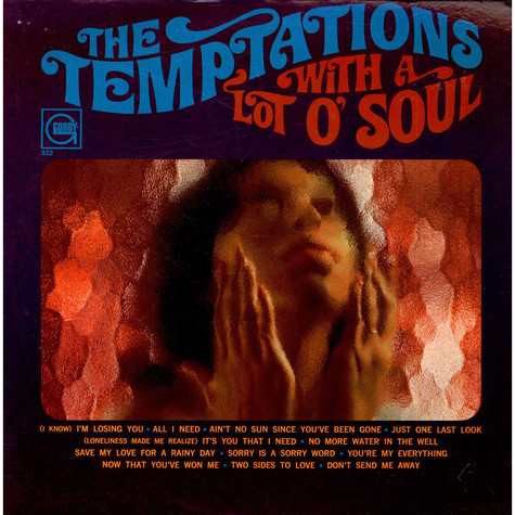 Temptations, The - With A Lot O' Soul