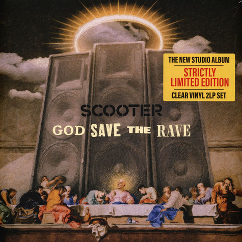 Scooter - God Save The Rave Clear Vinyl Edition