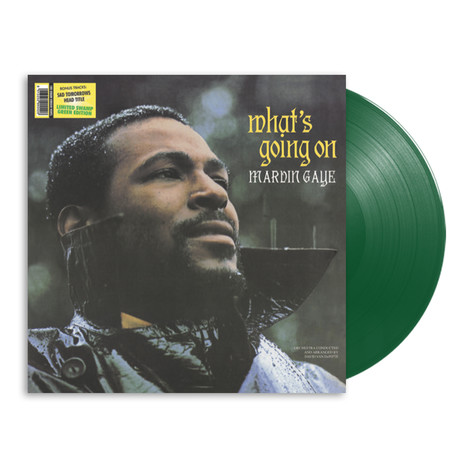Marvin Gaye - What's Going On Green Vinyl Edition
