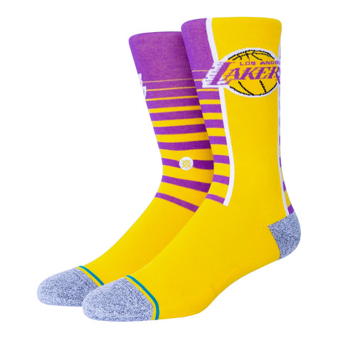 Stance x NBA - Lakers Gradient