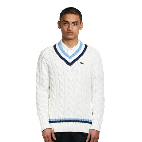Lacoste - Cable Knit Sweater