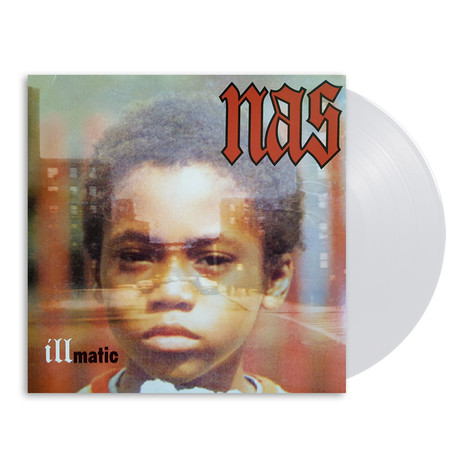 Nas - Illmatic Clear Vinyl Edition