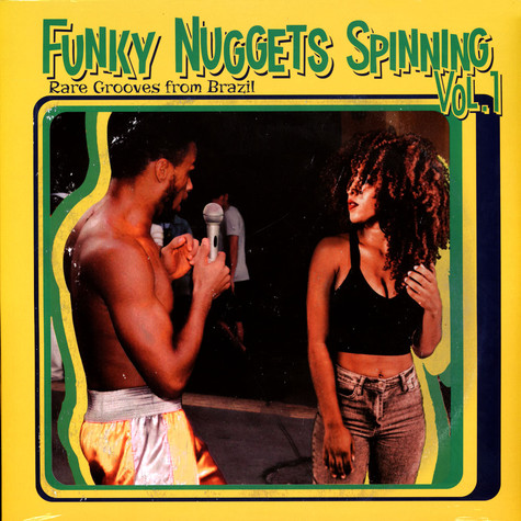 V.A. - Funky Nuggets Spinning Volume 1 (Rare Grooves From Brazil)