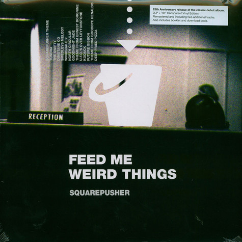 Squarepusher - Feed Me Weird Things Clear Vinyl Edition