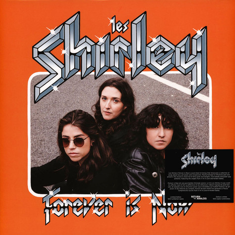 Les Shirleys - Forever Is Now Black Vinyl Edition