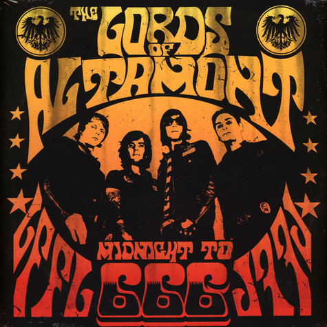 Lords Of Altamont, The - Midnight To 666 Black Vinyl Edition