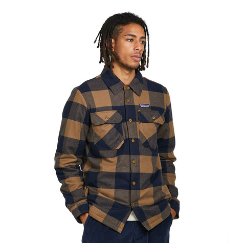 Patagonia - Insulated Organic Cotton MW Fjord Flannel Shirt