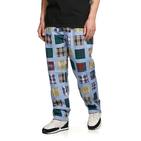 Stüssy - Madras Patchwork Relaxed Pant