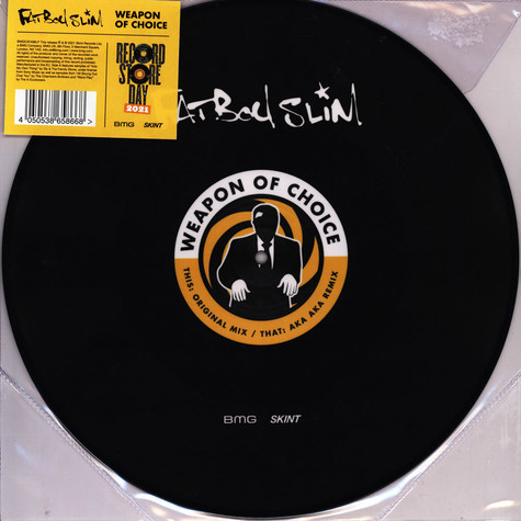 Fatboy Slim - Weapon Of Choice Record Store Day 2021 Edition