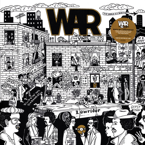 War - The Vinyl: 1971-1975 Record Store Day 2021 Edition
