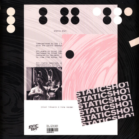 Chloé & Pete Harden - Static Shot Ep Record Store Day 2021 Edition