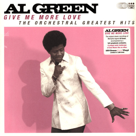 Al Green - Give Me More Love Pink Record Store Day 2021 Edition