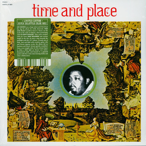 Lee Moses - Time And Place Splatter Vinyl Edition
