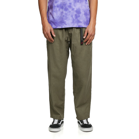 Gramicci - Linen Wide Tapered Pants